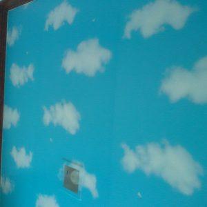 วอลไวนิลสติกเกอร์ลายท้องฟ้า